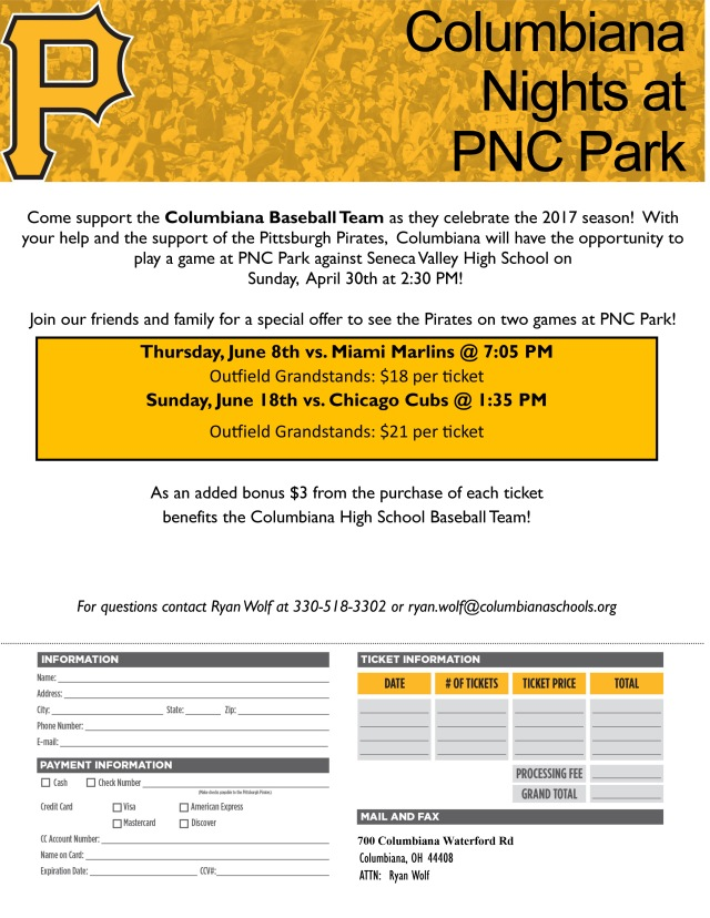 Clippers at PNC Park – Columbiana Clippers