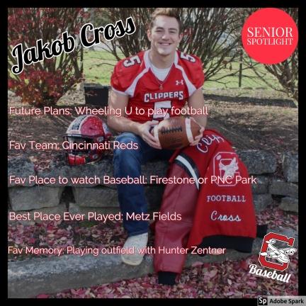 Jakob Cross Senior Spotlight