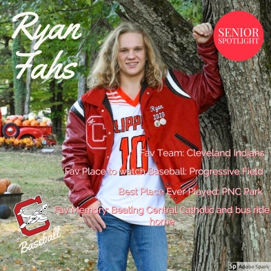 Ryan Fahs Senior Spotlight
